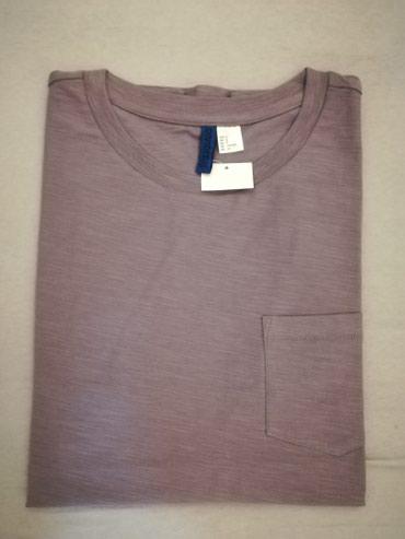 Muska majica, siva, marka DIVIDED H& M, velicina M, vrhunski - Nis