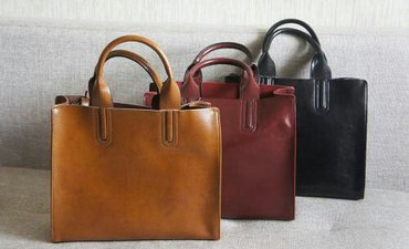 Аксессуары - Лебединовка: Новые сумки из натуральной кожи. цвет рыжий, бордовый, черный