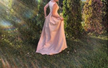 Svaku priliku haljina - Srbija: Predivna haljina jednom nošena Haljina je dinja boje, nežno roze. Obu