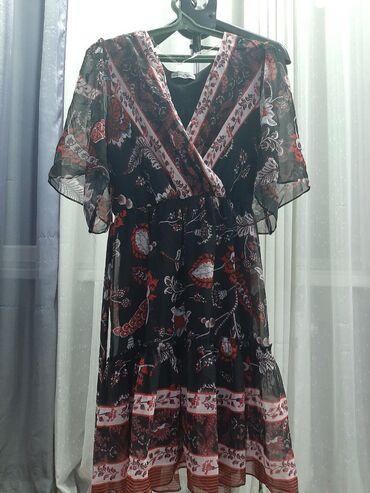palto razmer 46 в Кыргызстан: Новое платье шифон. Турецкое размер 44-46