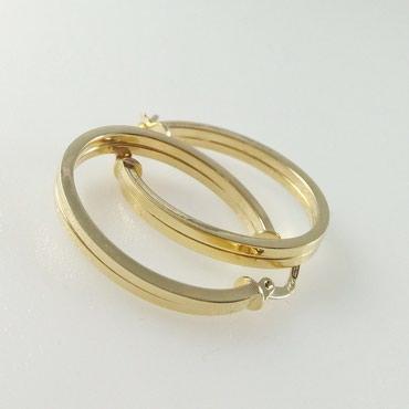 Серьги из желтого золота, 585 проба. Цена 8500 Сом в Бишкек