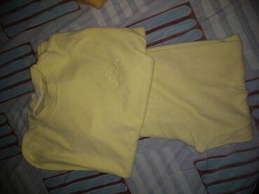Pidžamica žuta,očuvana 13-14 br