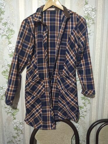 Рубашка х/б в идеальном состоянии размер 44-46