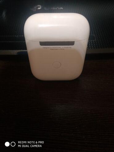 Наушники - Тип подключения: Беспроводные (Bluetooth) - Бишкек: Продаю наушники от фирмы BOROFONE. В идеальном состоянии полный