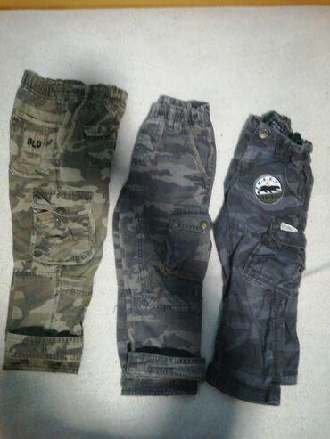 Pantalone vekivina - Srbija: Dečije pantalone za uzrast 2-4godine. Sa tri para za 1000din