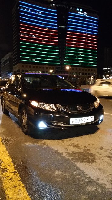 аренда хонда фит для такси в Азербайджан: Honda Civic 2015