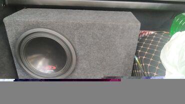 Электроника - Аламедин (ГЭС-2): Продаю сабвуфер. только короб с колонкой. 16мм ЛДСП