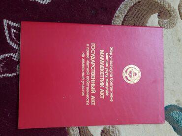 Недвижимость - Тамчы: 8 соток, Для строительства, Собственник, Красная книга
