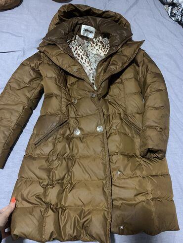 Duga zimska jakna - Srbija: Duga braon jakna zimska. Nosena par puta, kao nova. Dosta placena oko