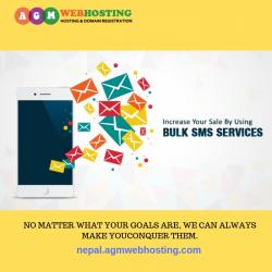 Cheap and Reliable Bulk SMS Service all Over Nepal by AGM Web Hosting in Kathmandu