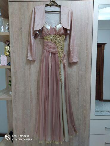 Продаю вечернее платье с болеро. Турция. Размер 48. Одели 1 раз
