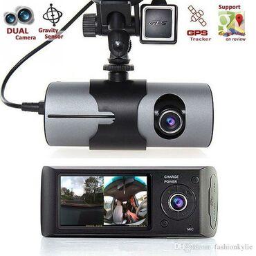 Videoqeydiyyatçılar Azərbaycanda: Videoreqistrator iki kamerali 16 gb yaddas karti hediyye