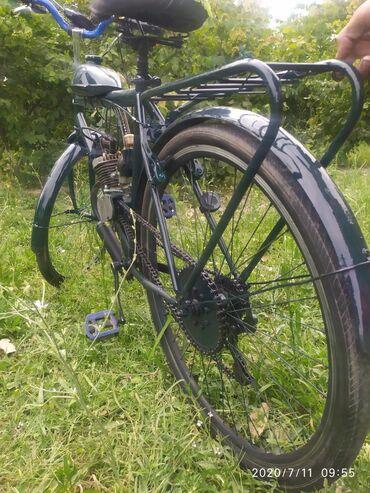 Matorlu velosiped prablemi yoxdur otur sür veziyetdedir real alıcıya
