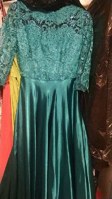 вечерние платья из бархата для полных в Кыргызстан: Платье. В хорошем состоянии