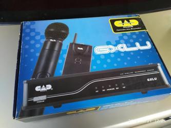 микрофон-за-телефон-цена в Кыргызстан: Радиомикрофон микрофон Cad Gxlu Новые Цена 9000 сом