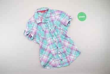 Рубашки и блузы - Цвет: Голубой - Киев: Жіноча сорочка у клітинку Lc Waikiki, p. S    Довжина: 62 см Ширина пл