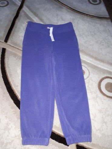 флисовые штанишки картерс- оригинал.одевались один раз.на 3-4,5 года.в в Бишкек