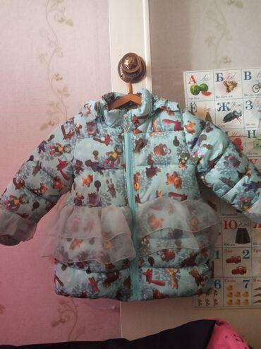 Продаю зимнюю голубую куртку на 4 года, еврозима, цена 300, штаны тепл