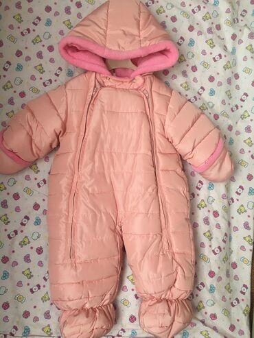 Продаю детские куртки в отличном состоянии! Розовая от 0-6 мес, на сей