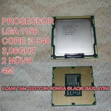Bakı şəhərində Prosessor (CPU) Core i3 540
