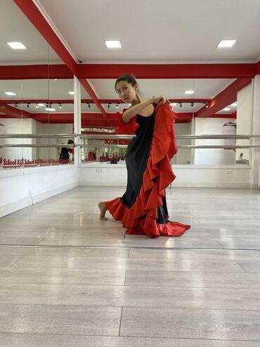 вечерние платья для полных дам в Кыргызстан: Продаю танцевальные костюмыИспанский кол во 5 шт(3 шт с боди,и 2 шт