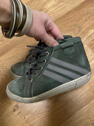 Детская обувь - Кыргызстан: Утеплённые кроссовки, 27 размер (18 см), Турция. В отличном состоянии