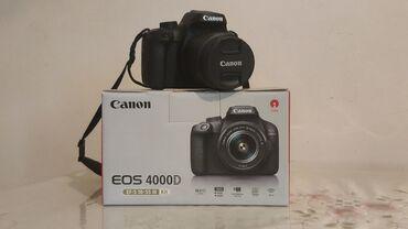 2192 elan: CANON EOS 4000D. Fotoaparat yenidən seçilmir. Probeq 800. Qutusu