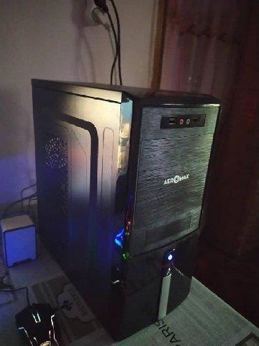 системный блок i5 в Кыргызстан: Игровой i5 с игровой видеокартой, в новом стильном корпусе. ОЗУ 8ГБ