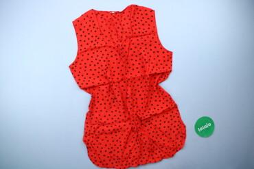 Жіноча блуза у горошок, р. М   Довжина: 74 см Напівобхват грудей: 52 с