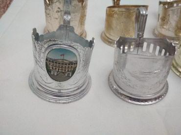 Антиквариат в Лебединовка: Под стаканники алюминивые СССР по 100 сом штука