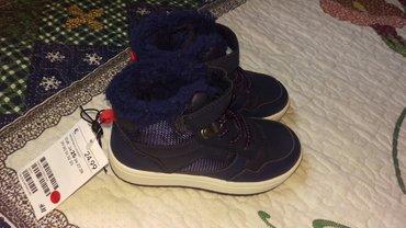 Продаю новые сникерсы  фирменные от H&M теплые с начесом.  размер 25.  в Бишкек