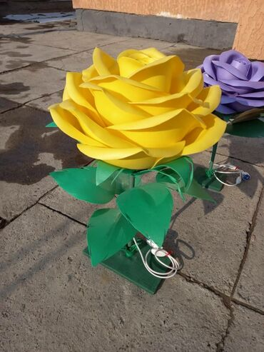 Декоративные цветы ручной работы, в наличии и на заказ!!!Размеры от 50