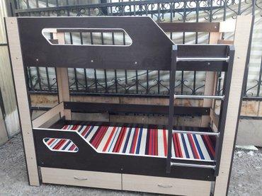 Продаю новый двух ярусный кровать из российского ламината в Лебединовка
