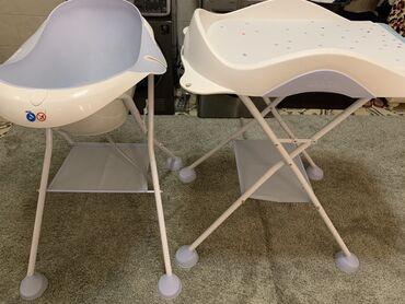 детские палатки цена в Кыргызстан: Продаю пеленальный столик и ванночку б/у фирмы Beaba, Франция. Состоян