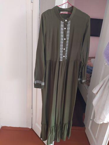 Легкое платье, турецкий штапель. Размер 42. В отличном состоянии