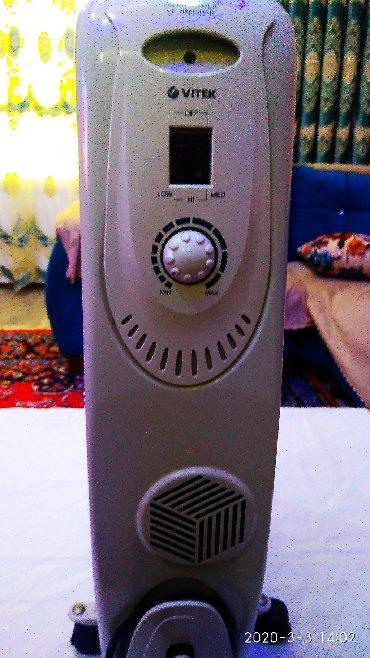 istilik radiatoru - Azərbaycan: QIZDIRICI yağ Radiatoru VİTEK-1705 W istilik dərəcə ayarlı termostat