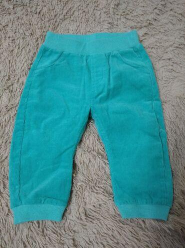 Продаю штаны вельветовые,74 см,6-9 мес,цена 300