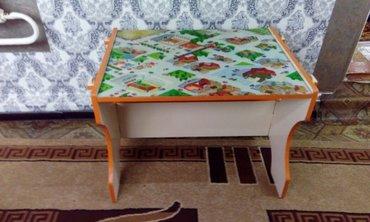 детский эксклюзивный стол! разборный. длина 72 см. ширина 55см. высота в Бишкек