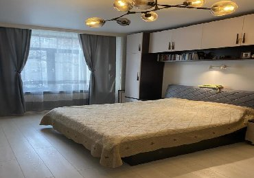 avtomobil zhiguli massoj 1 t в Кыргызстан: Сдаю 1 комнатную квартиру на 6-ом этаже, с потрясающим видом на город