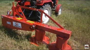 Роторная касилка для мини трактора лисички 1,35
