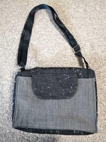 Rucno sivene unikatne teksas torbe Tania