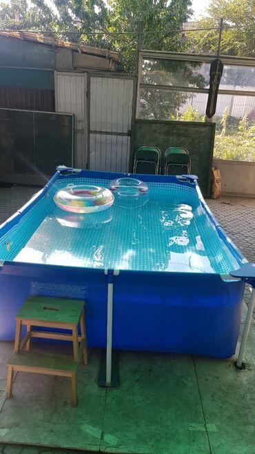 11291 объявлений: Продаю бассейн +фильтр для воды+чехол