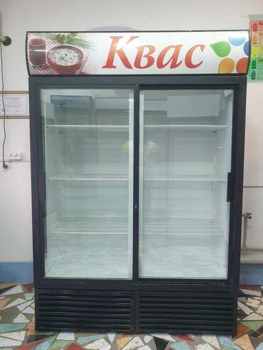 Электроника - Кыргызстан: | Б/у Холодильник-витрина | Красный холодильник Haier