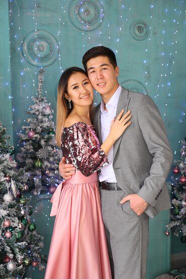 прокат платье вечернее в Кыргызстан: Суперское вечернее платье с пайетками Будете неотразимы.Качество отли