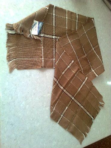 шарф мужской в Кыргызстан: Новые мужские шарфы 300с - серенький 160х19см. цена 150с. - черный в