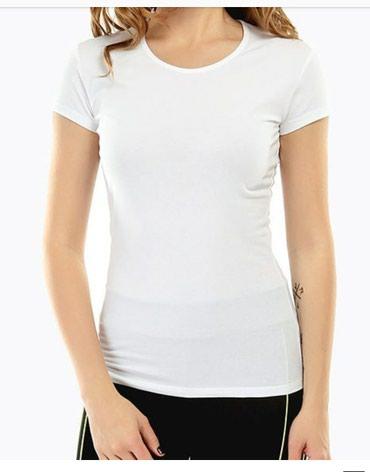 женские футболки оптом в Кыргызстан: Продаются футболки базовые. размеры s-xl. цвета в наличии белые