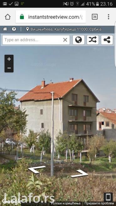 Prodajem kuću u kaludjerici, iznad crkve, površine 450-500m2, na - Beograd