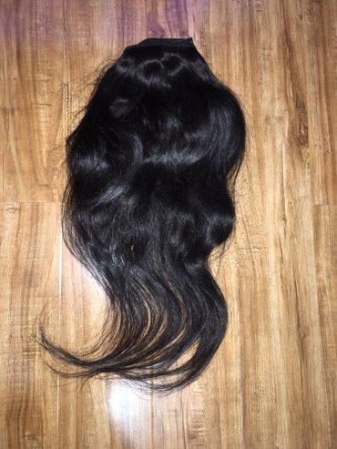 Волос не крашеный натуральный для афро наращивание есть даже мастер  в Бишкек