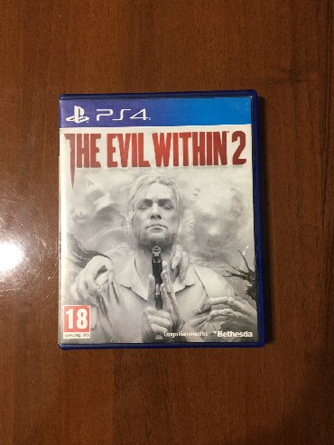 The Evil Within 2 PlayStation 4 oyun. Cox super oyundu horror stilinde