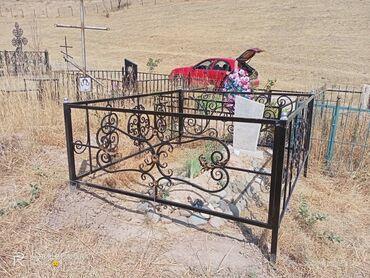 Работа - Дачное (ГЭС-5): Оградки, памятники, решётки в городе Бишкек Помятники  Кресты от 4000